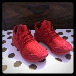 Adidas Tubular Radial Red Sneakers